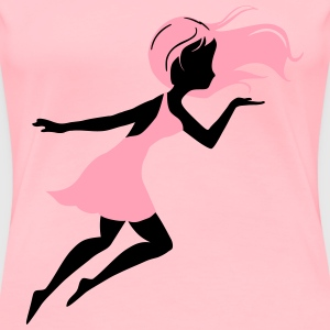 Fairy blowing - Women's Premium T-Shirt