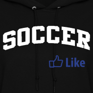 Design ~ Soccer, Facebook Like