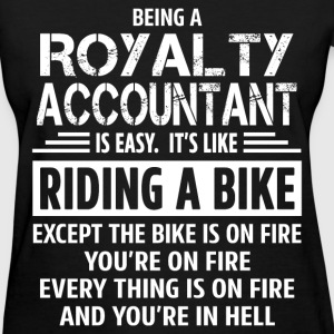 Royalty Accountant - Women's T-Shirt