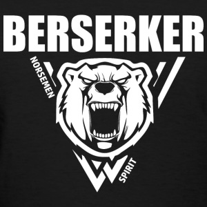 Berserker Vikings White T-Shirts - Women's T-Shirt