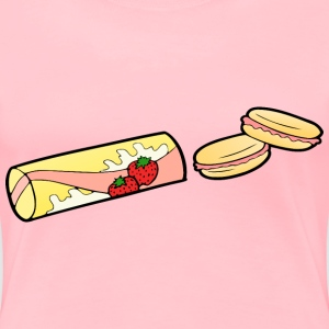 Strawberry Snack - Women's Premium T-Shirt