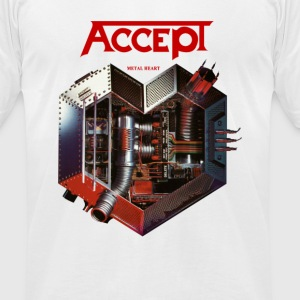Accept Metal Heart 85 - Men's T-Shirt by American Apparel