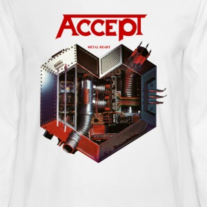 Accept Metal Heart 85 - Men's Long Sleeve T-Shirt