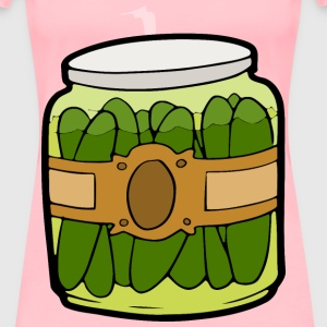 Pickles in a Jar - Women's Premium T-Shirt