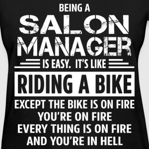 Salon Manager - Women's T-Shirt