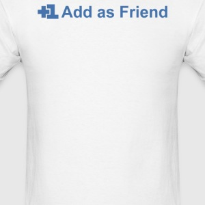 Add Friend - Men's T-Shirt