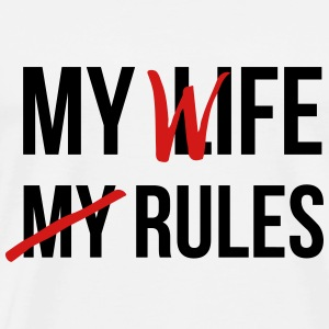 My Life My Rules T-Shirts - Men's Premium T-Shirt