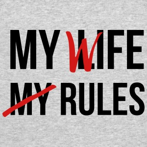 My Life My Rules T-Shirts - Men's 50/50 T-Shirt