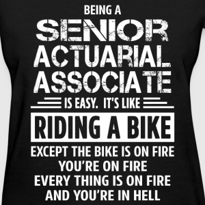 Senior Actuarial Associate - Women's T-Shirt