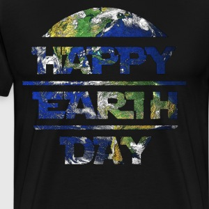 Happy Earth Day Planet T Shirt T-Shirts - Men's Premium T-Shirt