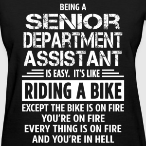Senior Department Assistant - Women's T-Shirt