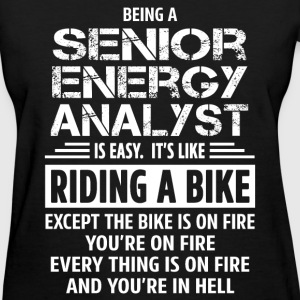 Senior Energy Analyst - Women's T-Shirt