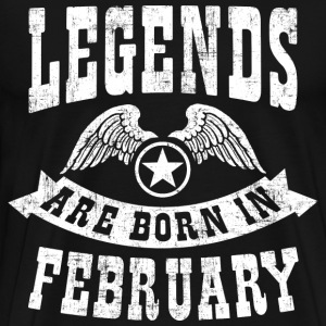 Birthday February T-Shirts - Men's Premium T-Shirt
