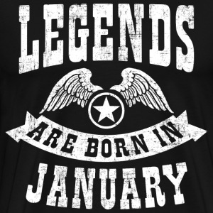 Birthday January T-Shirts - Men's Premium T-Shirt