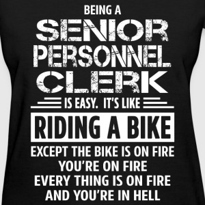 Senior Personnel Clerk - Women's T-Shirt