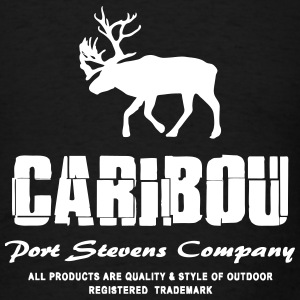 Caribou T-Shirts - Men's T-Shirt