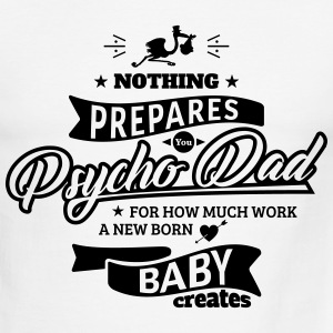 Psycho Dad - Men's Ringer T-Shirt