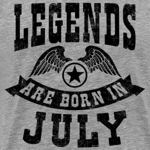 Legend Are Born in July T-Shirts - Men's Premium T-Shirt