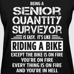 Senior Quantity Surveyor - Women's T-Shirt