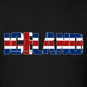 Iceland Flag T-Shirts - Men's T-Shirt