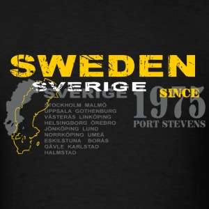 Sweden- Sverige T-Shirts - Men's T-Shirt