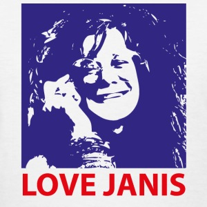 Love Janis 1960s Music 2c T-Shirts - Women's T-Shirt