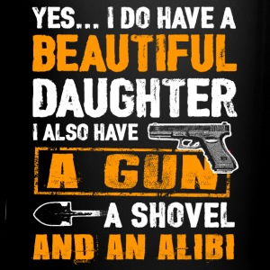 Father's Day Shirt - Daughter And Alibi Mugs & Drinkware - Full Color Mug