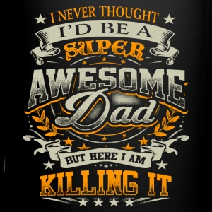 Awesome Dad Killing It Father's Day Shirt Gift Mugs & Drinkware - Full Color Mug