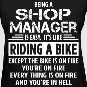 Shop Manager T-Shirts - Women's T-Shirt