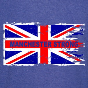 MANCHESTER STRONG - Vintage Sport T-Shirt