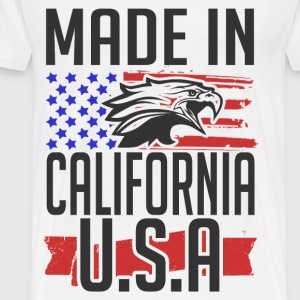 california 1.png T-Shirts - Men's Premium T-Shirt