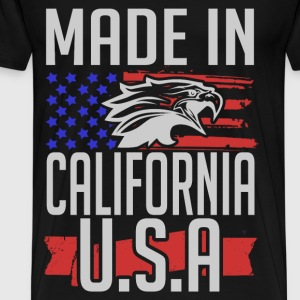 california 2.png T-Shirts - Men's Premium T-Shirt