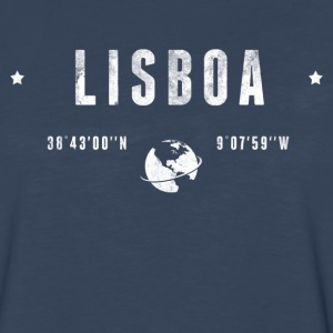 Lisboa Long Sleeve Shirts - Men's Premium Long Sleeve T-Shirt