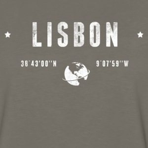 Lisbon Long Sleeve Shirts - Men's Premium Long Sleeve T-Shirt