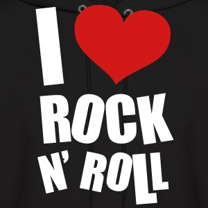 I Love Rock N Roll Hoodies - Men's Hoodie