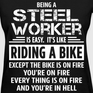 Steel Worker T-Shirts - Women's T-Shirt