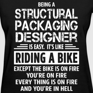 Structural Packaging Designer T-Shirts - Women's T-Shirt