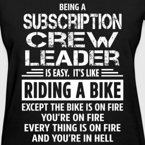 Subscription Crew Leader T-Shirts - Women's T-Shirt