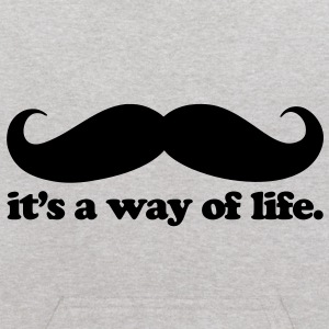 Mustache - A Way Of Life Sweatshirts - Kids' Hoodie