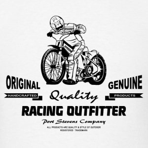 Motorcycle Speedway - Dirt Track Racing T-Shirts - Men's T-Shirt