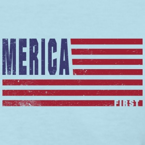 4th Of July Gift Merica First T-Shirts - Women's T-Shirt