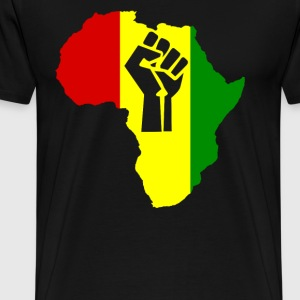 Africa Power Rasta Reggae - Men's Premium T-Shirt