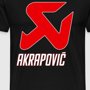 Akrapovic Motorsport Exha - Men's Premium T-Shirt