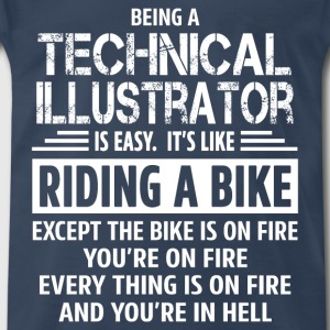Technical Illustrator T-Shirts - Men's Premium T-Shirt