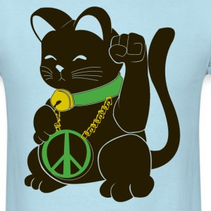 Black Peace Cat - Men's T-Shirt