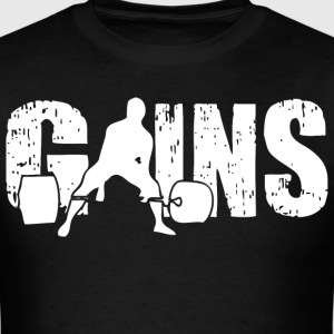 GAINS - Sumo Deadlift T-Shirts - Men's T-Shirt