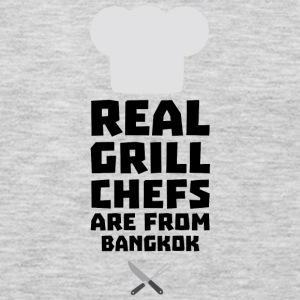 Real Grill Chefs are from Bangkok S47nz Long Sleeve Shirts - Men's Premium Long Sleeve T-Shirt