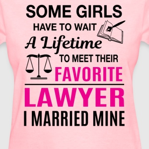 Lawyer Wife - Women's T-Shirt