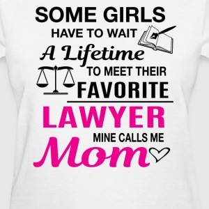 Lawyer Mom - Women's T-Shirt