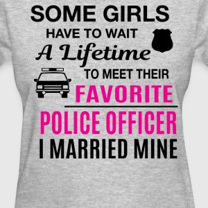 Police Officer Wife - Women's T-Shirt